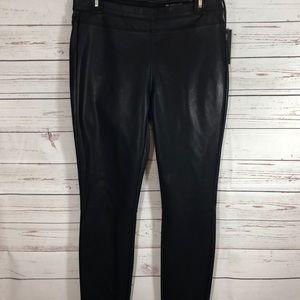 BlankNyc Black Pull On vegan leather leggings 29